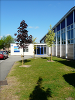 Thomas Lord Audley School - student entrance